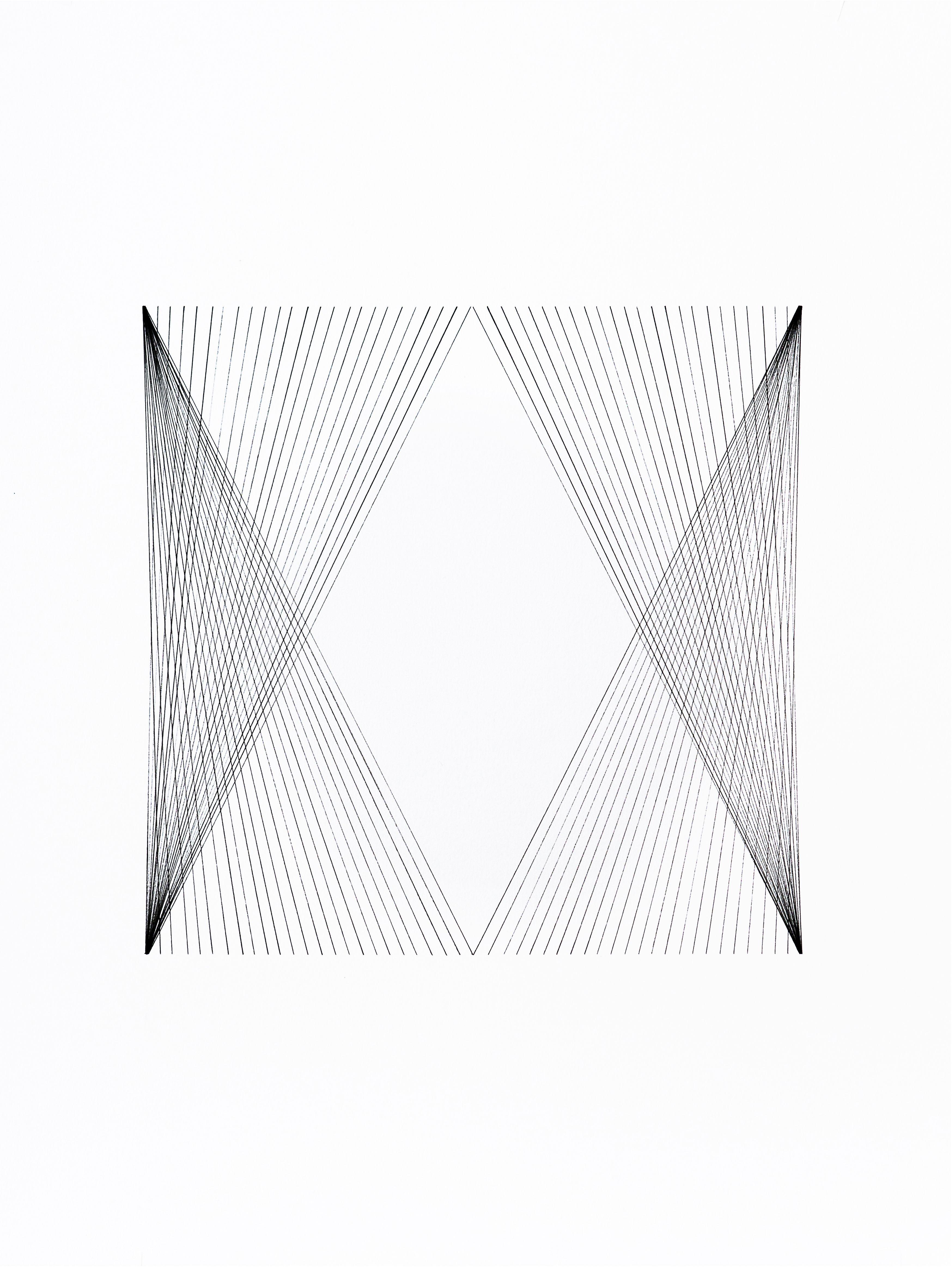 Title: 12x12 Series Untitled #04 Artist: Ryan Roa #inkonpaper #contemporaryart #Ryan Roa #gallerynine5 #StressPoints