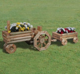 Tractor Flower Planter Plans