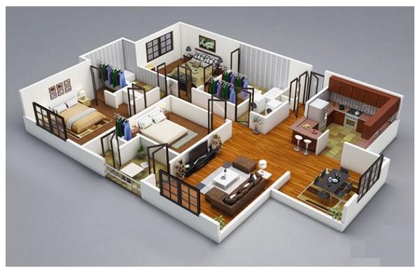 Planos de casas modernas de lujo vivi plan appartement plan maison y projet maison - Planos de chalets modernos ...