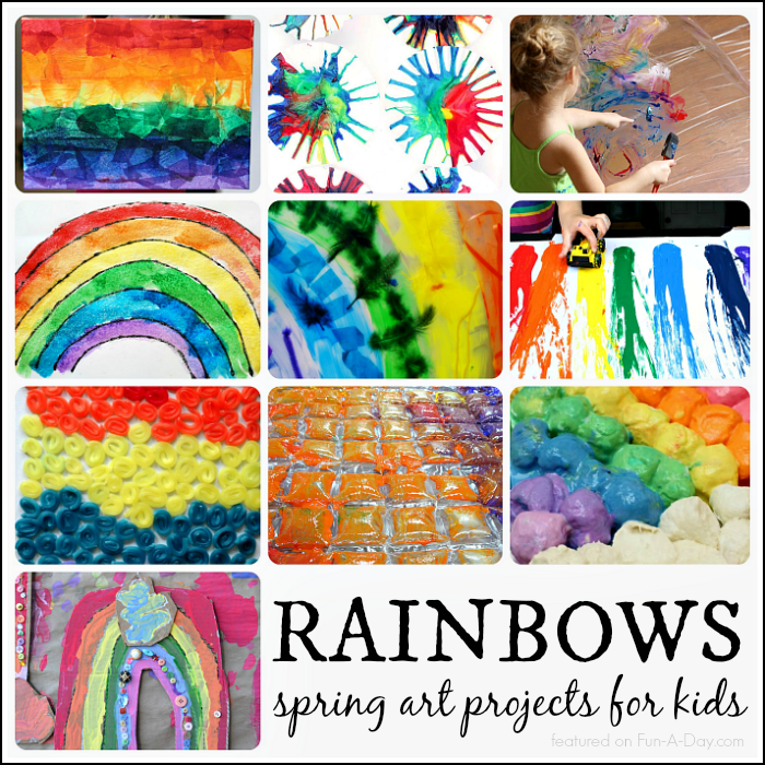 Bulletin Board Ideas 2 Year Olds: Absolutely Beautiful Spring Art Projects For Kids To Make