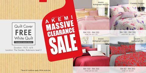 7921d27ccd23 19 May-6 Jun 2016  AKEMI Massive Clearance Sale