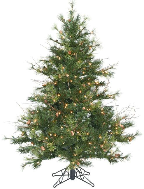45 foot duralit artificial christmas tree mixed country clear height