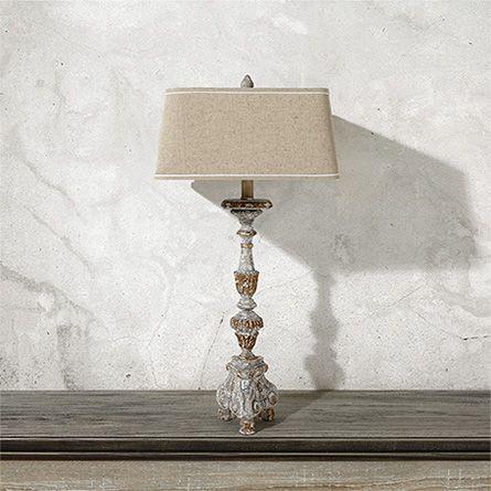 St Augustine Tall Table Lamp Arhaus Furniture