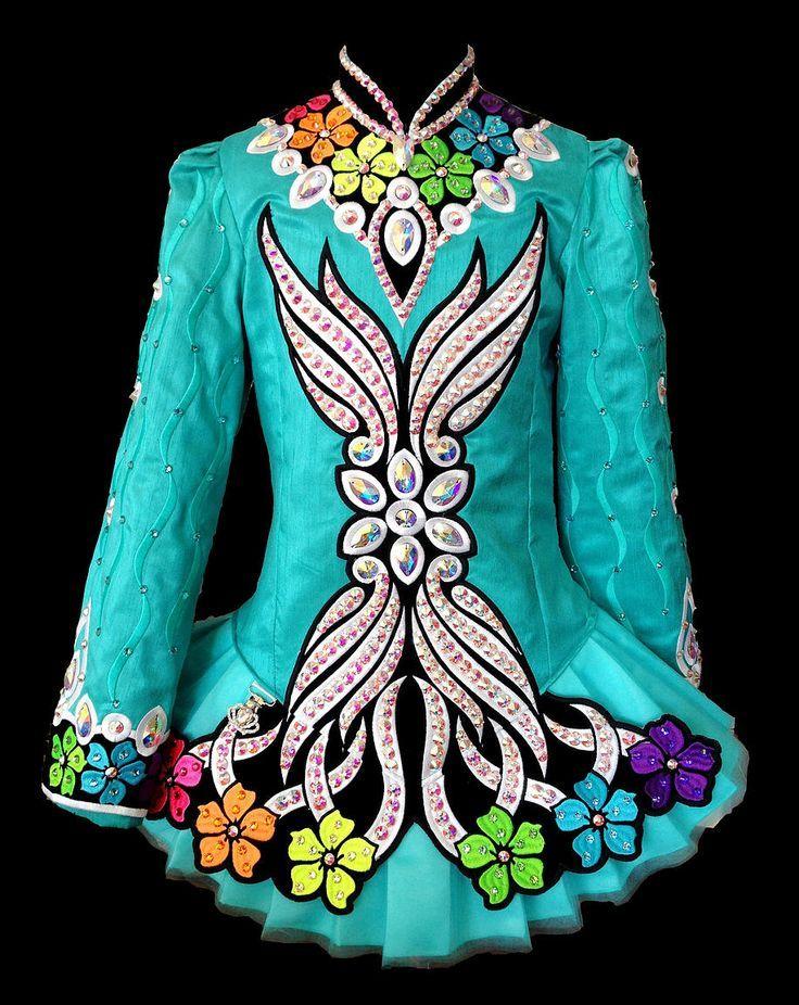Cheap irish dance solo dresses for sale
