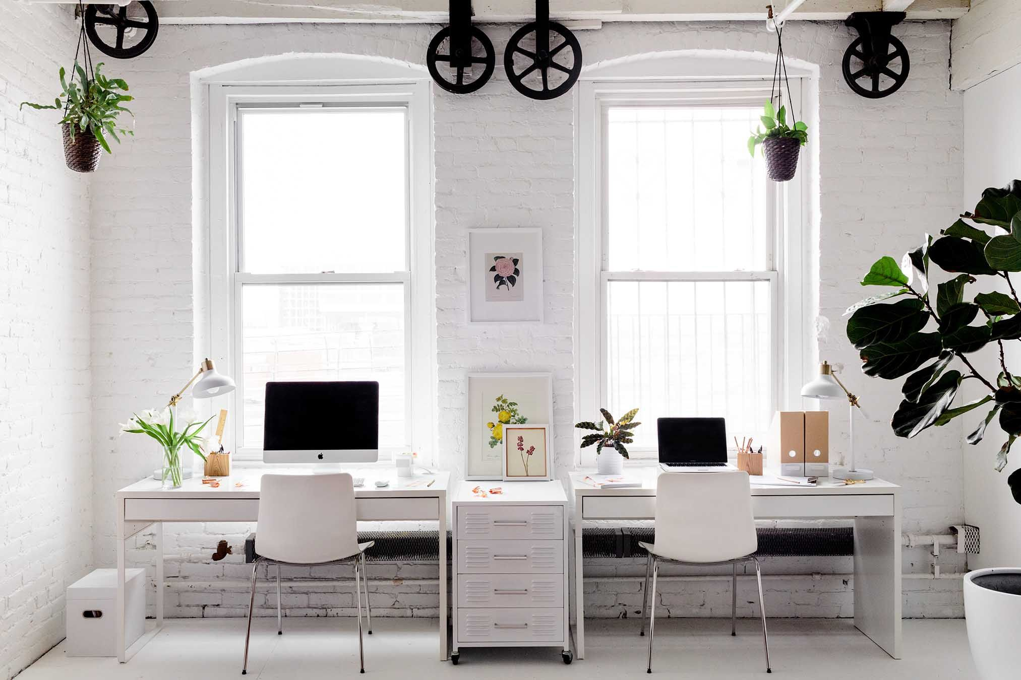 1956blooms Exquisitely Minimal Floral Studio Home Office D