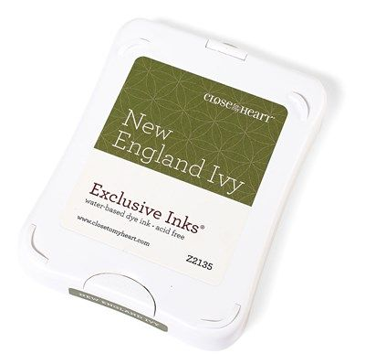 Close To My Heart Z2135 New England Ivy Exclusive Inks™ Stamp Pad - new packaging; color not retiring on July 31, 2016