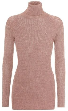 Prada turtle neck ribbed jumper