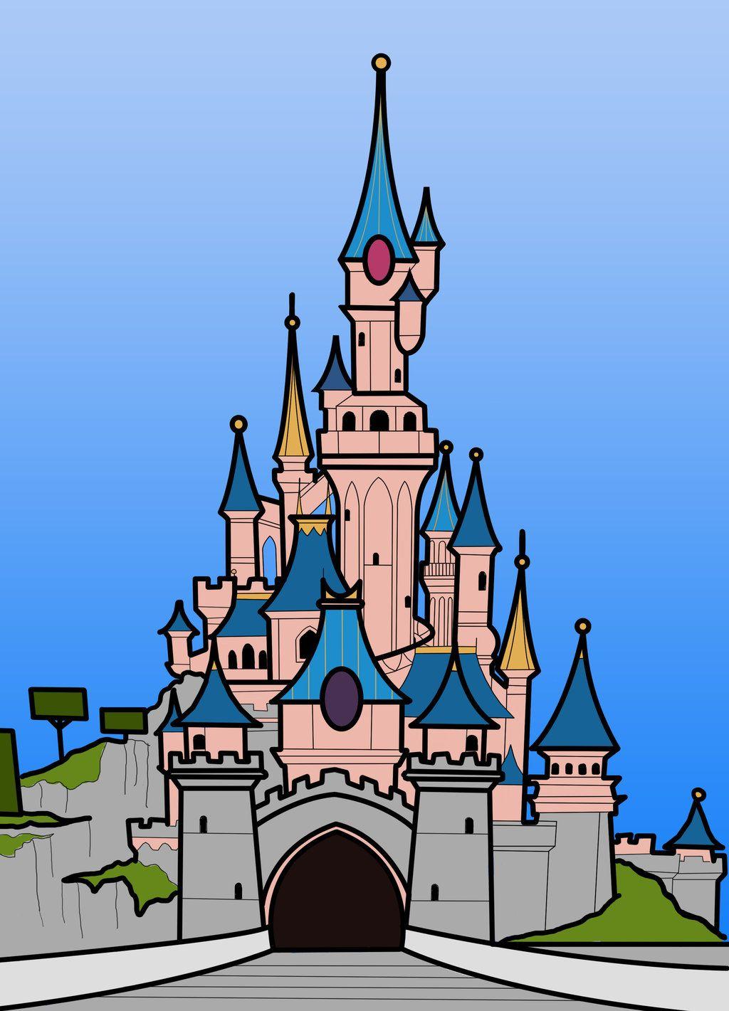 Sleeping Beauty Castle Stained Glass By Xanderffy On Deviantart Disney Castle Drawing Castle Drawing Disneyland Castle