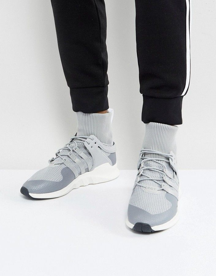 30a037e063d9 adidas Originals EQT Support ADV Winter Sneakers In Gray BZ0641 ...