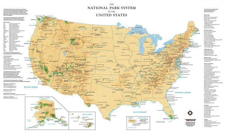 Best Maps For Us Road Trips National Parks Us Road Trip ...