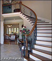 A Custom Stairway Can Provide A Dramatic Focal Point, Enhance Architectural  Aesthetics, U0026 Add Pizzazz To Interior Spaces And Stylish Designs Made  Possible ...