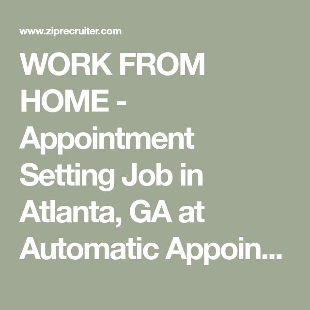 Work From Home Jobs Atlanta