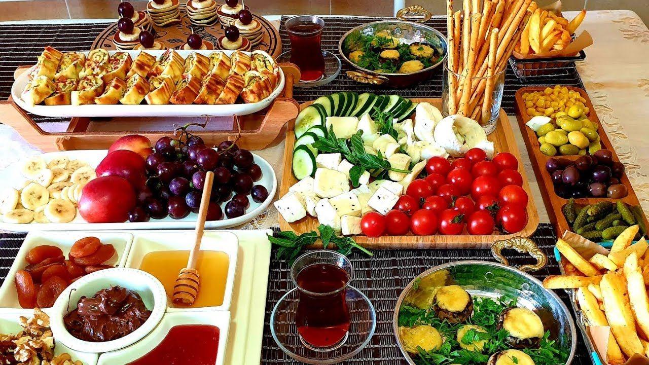 فطور صباحي تركي بطريقة سهلة و سريعة Youtube Appetizer Recipes Recipes Food