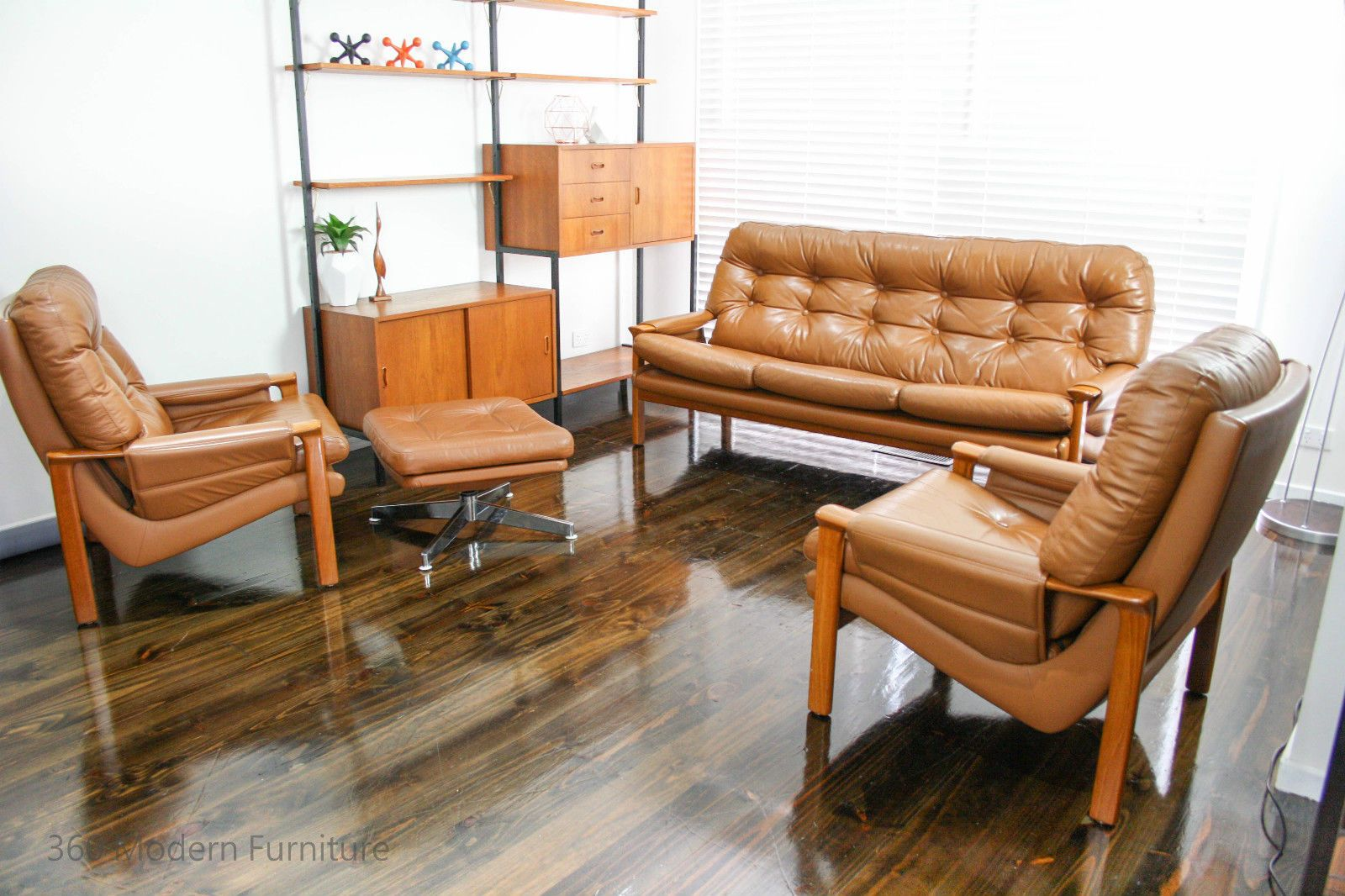 Peachy Tessa Leather 3 Seater 2 Armchairs Retro Vintage Lounge Caraccident5 Cool Chair Designs And Ideas Caraccident5Info