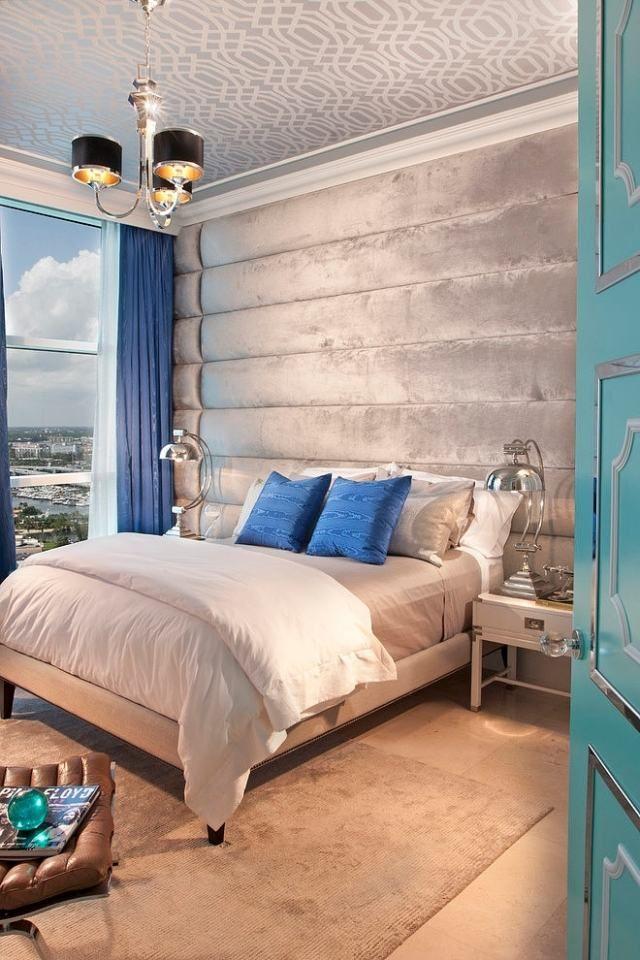 107 idées de déco murale et aménagement chambre à coucher Pinterest