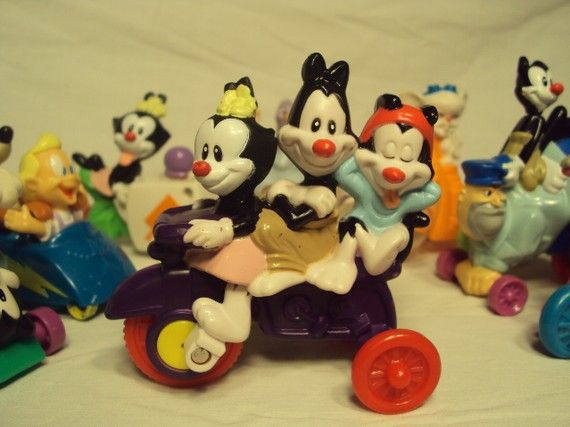 Toys From Mcdonald S Happy Meals : Vintage animaniacs mcdonalds happy meal toy set old toys