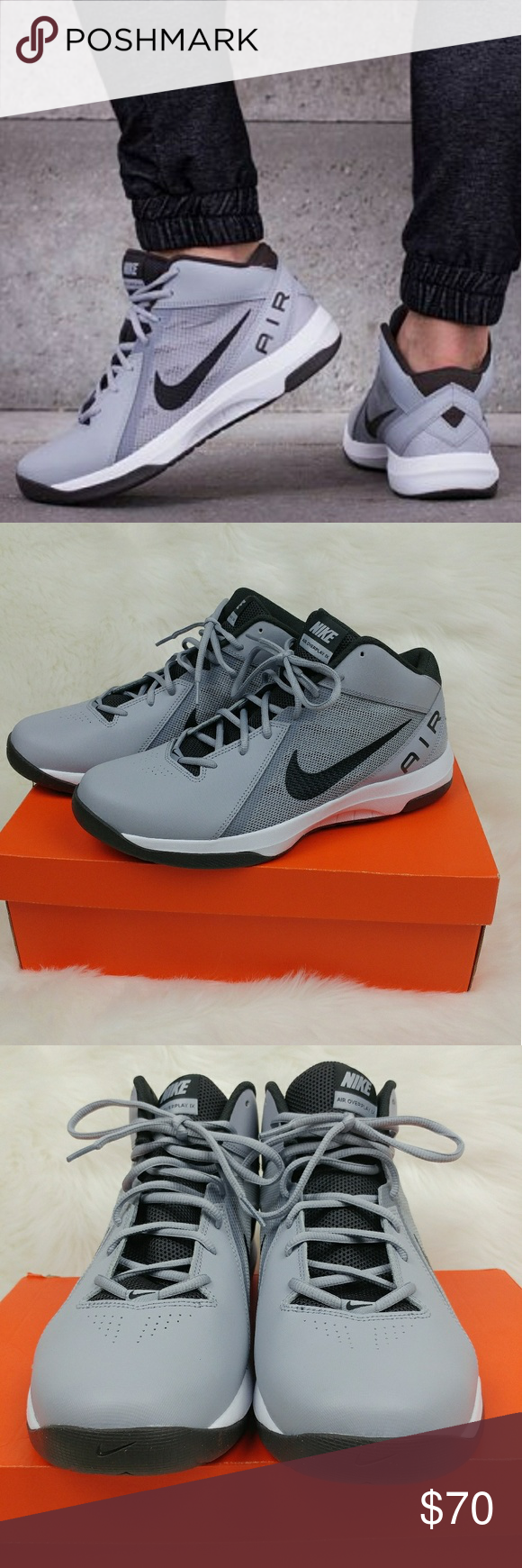 Nike The Air Overplay IX Mens Basketball Shoes New in Box
