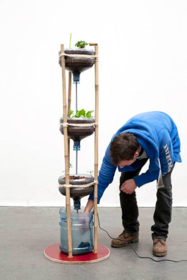 Awesome 27 Tower Garden Ideas For Vertical Gardening