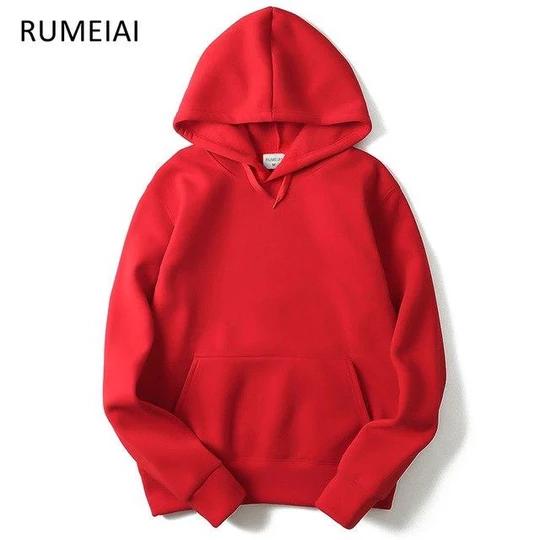 RUMEIAI Autumn Street wear MenWoman Hip Hop blackPink