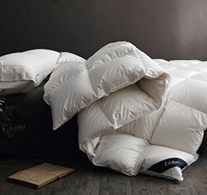 Aeolus Down Heavy Weight White Down Comforter King By Aeolus Down 199 45 Baffle Box Stitch Corded Edge White Down Comforter Down Comforter Duvet Bedding