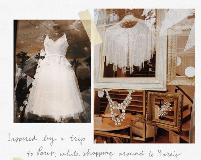 Chicago & Houston Window Display Wedding Gowns