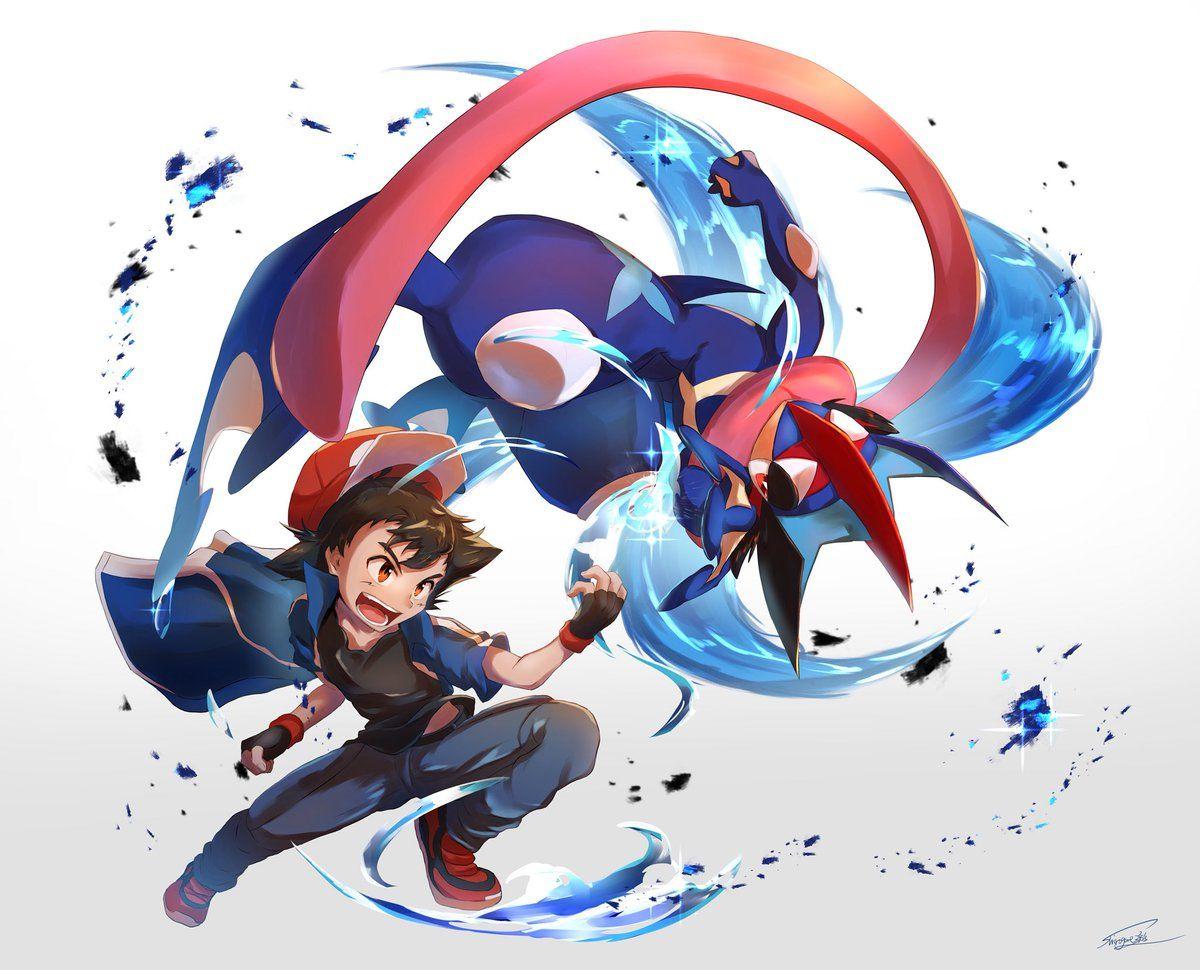 サトシ サトシゲッコウガ Fotos De Pokemon Xyz Fotos De Pokemon