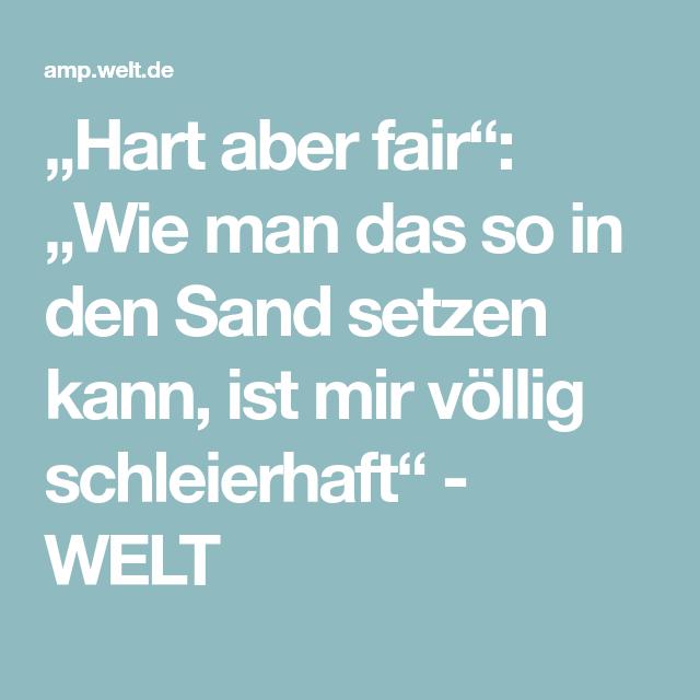 """""""Hart aber fair: """"Wie man das so in den Sand setzen kann"""