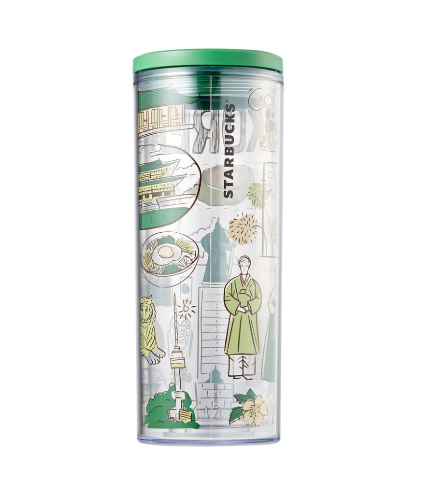 Starbucks Korea 2020 Spring Limited Bearista Glass Dome Coldcup Tumbler 503ml