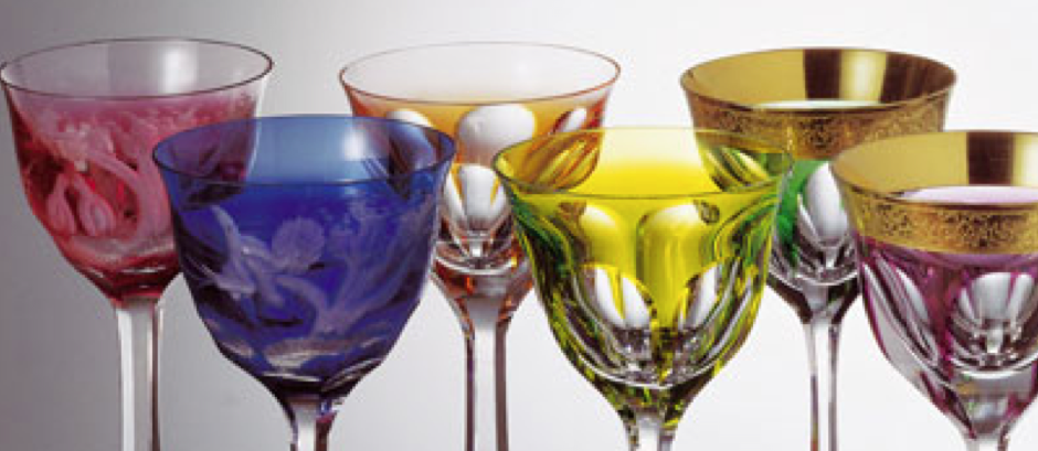 Moser Glass Lady Hamilton Fit for Kings, Queens, Presidents