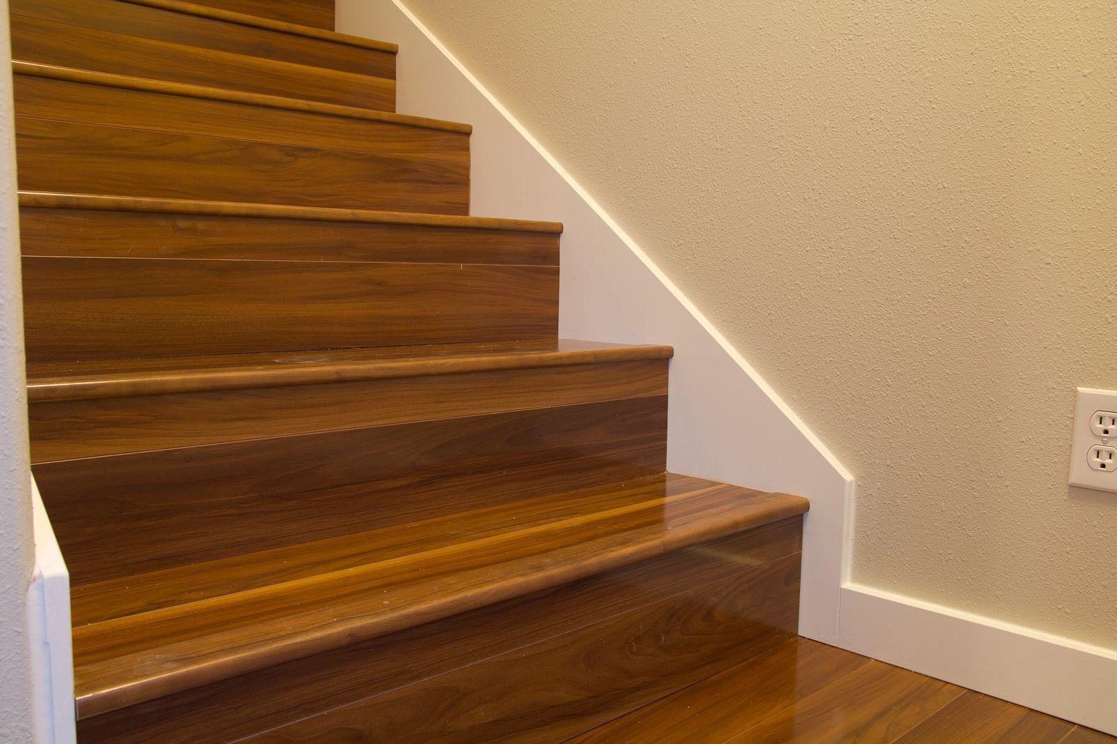 Can You Install Laminate Flooring On Stairs You May Be Wondering | Hardwood Floor Stair Treads | Wooden | Hand Scraped | Redwood | Pergo Floor | Laminate Flooring