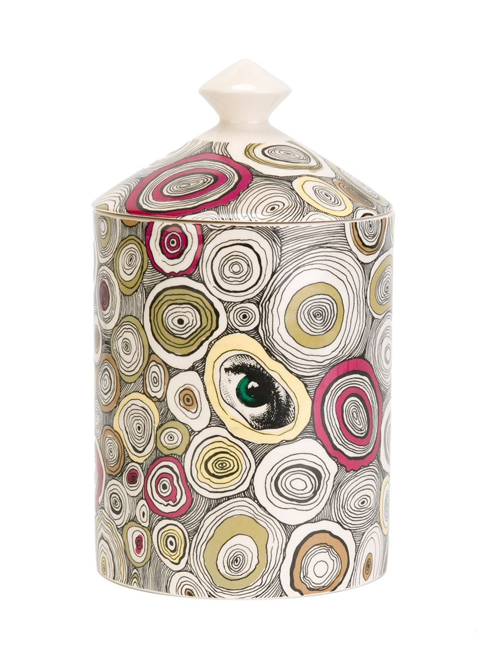 Fornasetti agate print candle the eyes have it pinterest