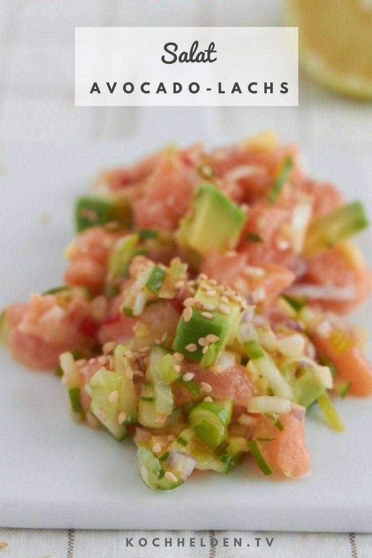 Der gesündeste Salat der Welt - Avocado-Lachs-Sala