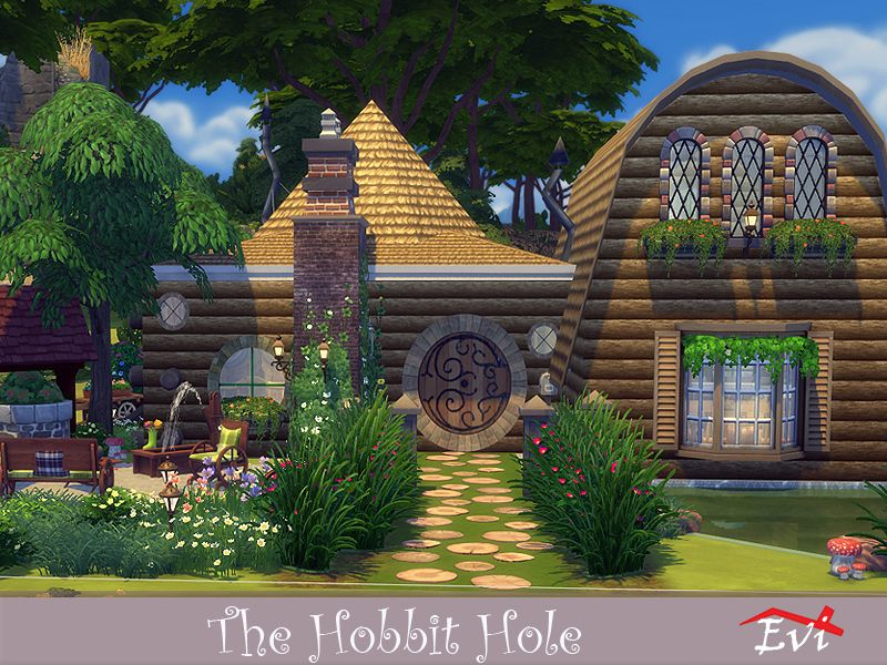 Luxury Sims 4 Tree House