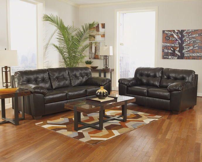 Best Ashley Furniture 20101 38 35 2 Pc Alliston Chocolate 400 x 300