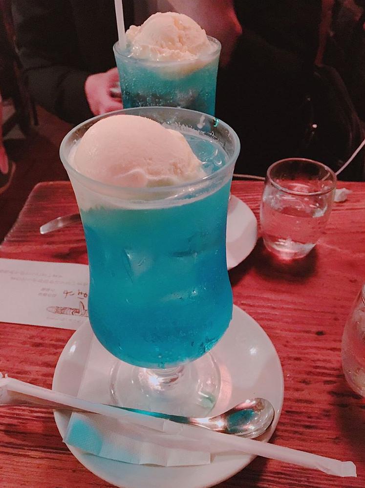 フロート ソーダ