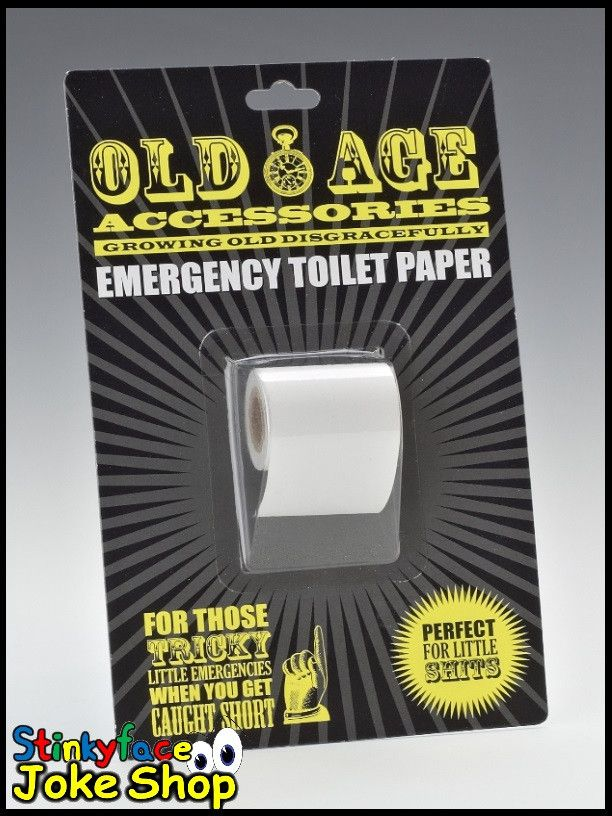 Old Age Accessories Emergency Toilet Paper