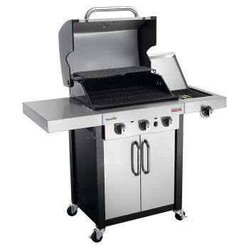 Char Broil Professional 3400s 3 Burner Gas Bbq With Tru Infrared Stainless Steel Bbq Char Broil Grilling