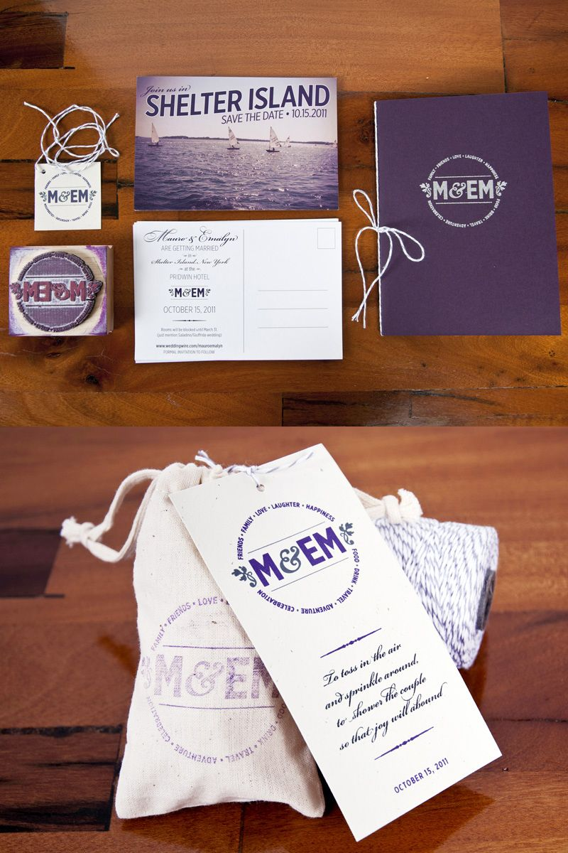 Mauro Emmy S Travel Inspired Destination Wedding Invitations