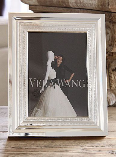 Vera Wang Wedgwood With Love Silver 4x6 Picture Frame Bedroom