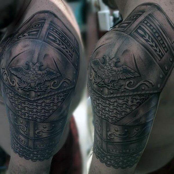 Male Armor Plate Tattoo | warrior tattoos | Pinterest | Tattoo