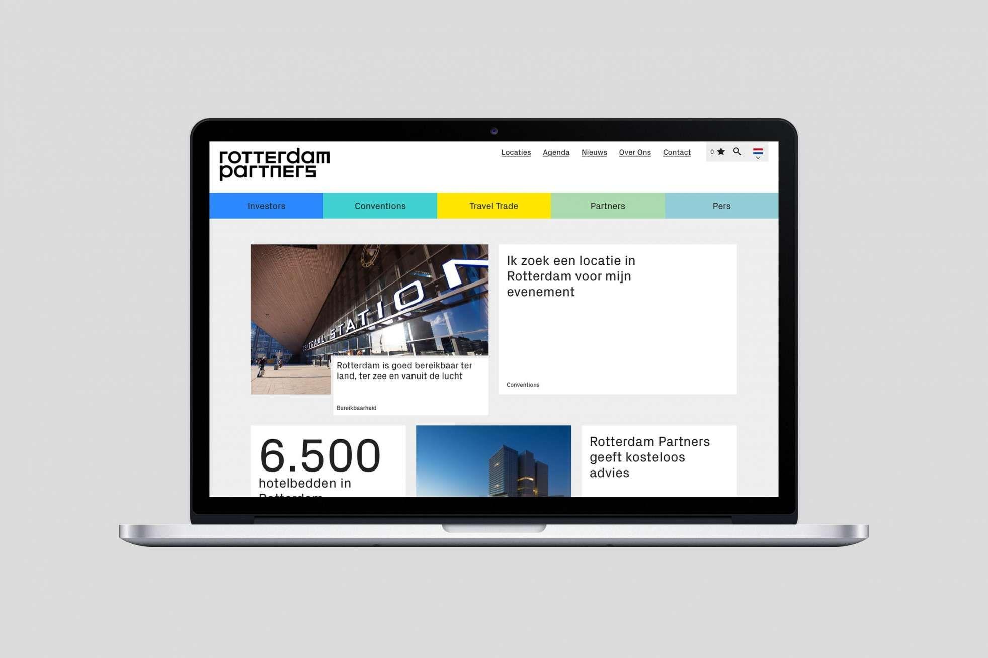 Rotterdam Partners Visual Identity Strategic Positioning Interactive Web Design Visual Branding Visual Identity