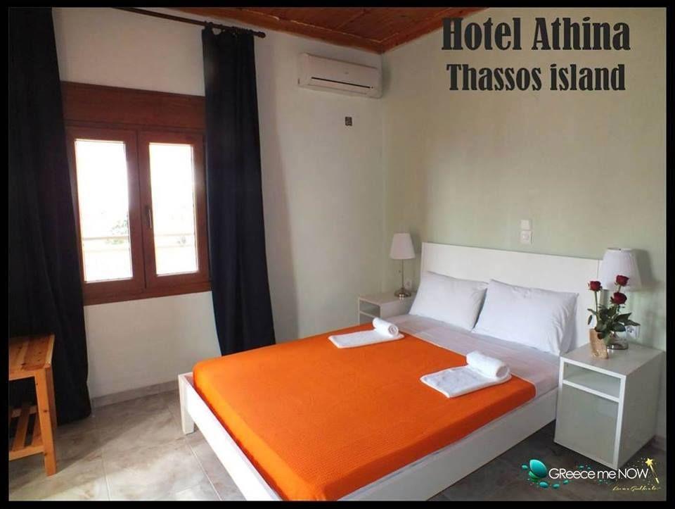 Hotel Athina, Kinira, Thassos! Greece!