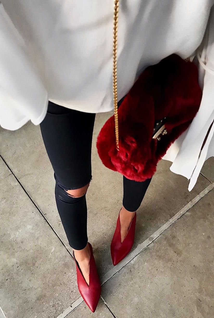 a854af2774f6d Our Kora boot in scarlet styled by  shalicenoel! The Kora sports a ...