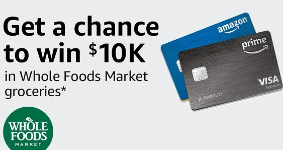 Amazon 10k Of Groceries At Whole Foods Market Sweepstakes Whole Foods Market Whole Food Recipes Whole Foods Gift Card