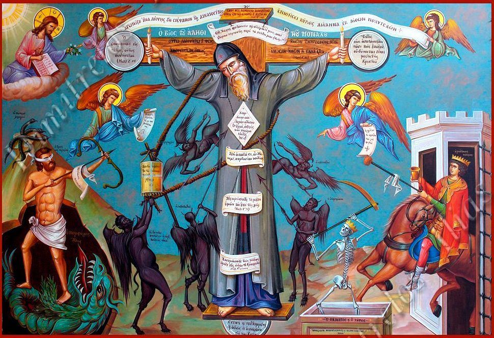 Resultado de imagen para The Crucified Monk