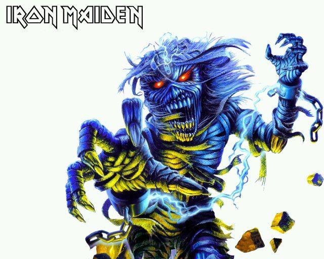 Iron Maiden Eddie Image By John Mazzuca On Iron Maiden Iron Maiden Iron Maiden Albums