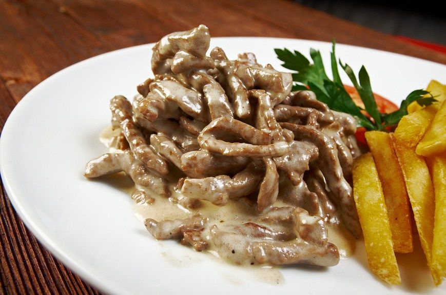 how to make a real russian beef stroganoff homemade