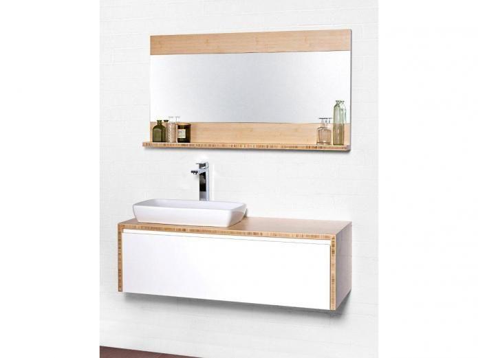 Fresh Bamboo Bathroom Vanities