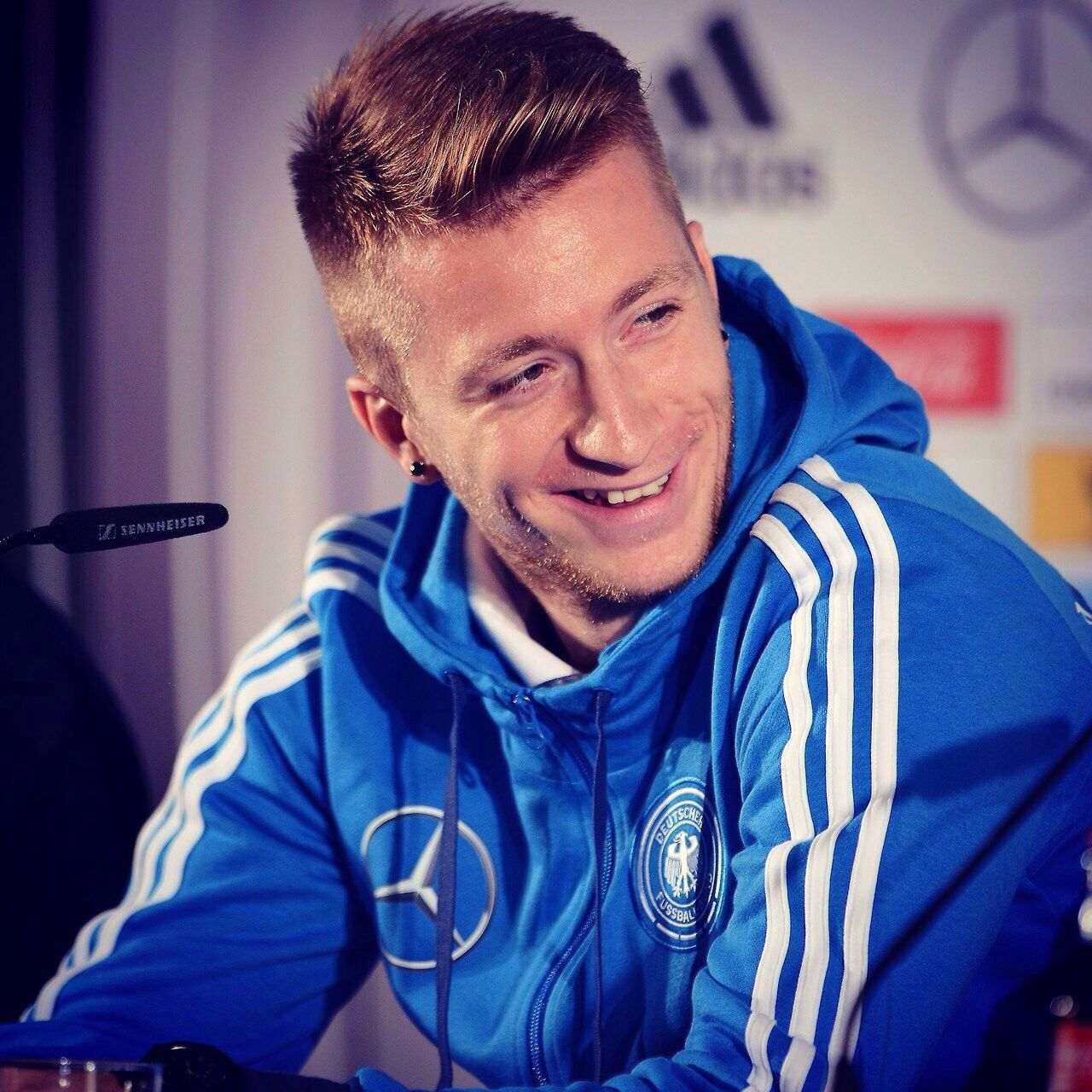 His smile. I'm in love with his smile Marco reus, Dfb