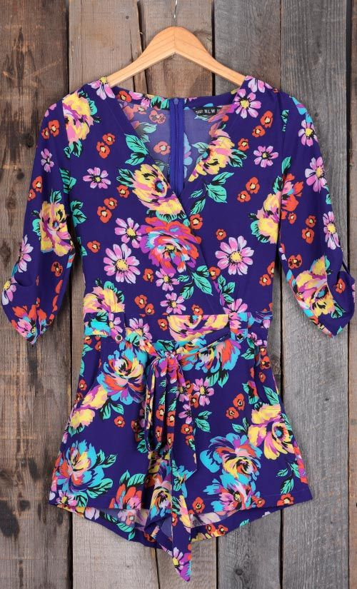 The romper is so cute! That vibrant floral print just leaps off that purple background. There are more floral rompers and dresses and swimwear at Cupshe.com, take sometime to find out which suits you best!